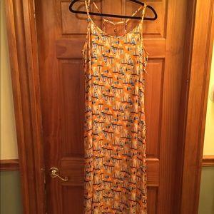 Summer Sailboat Dress